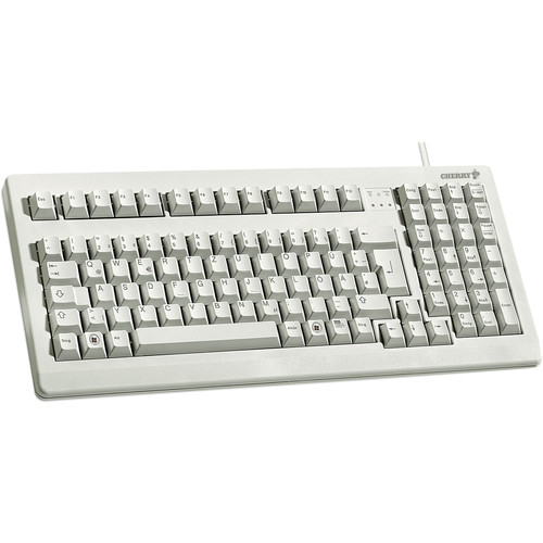 CHERRY G80-1800 Compact MX Keyboard (Light Gray)