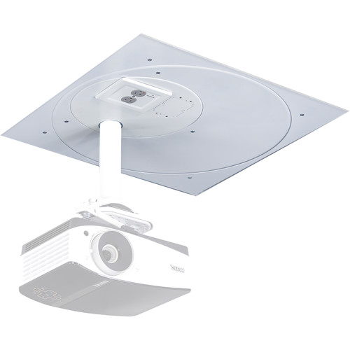 Chief SpeedConnect Suspended Ceiling Tile Replacement Kit with 2-Gang Filter & Surge (White)