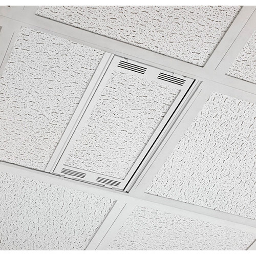 Chief Plenum Rated Ceiling Enclosure Storage Box (White, 1 by 2')