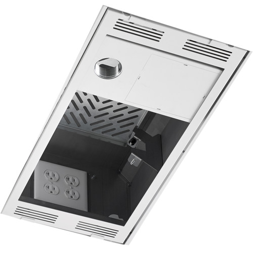 Chief In-Ceiling Storage Box with Column Drop (1 x 2')