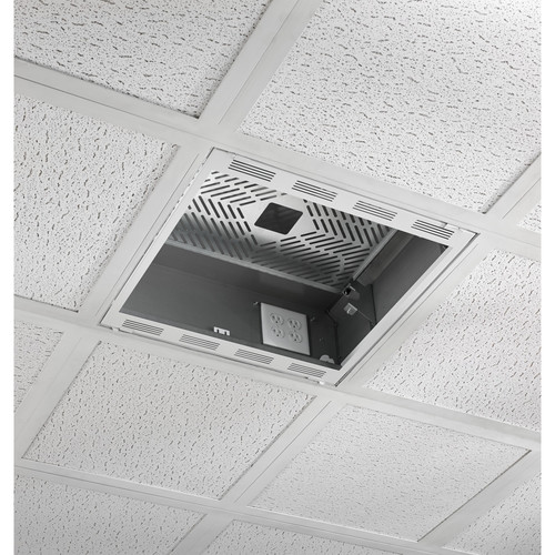 Chief Plenum Rated Ceiling Enclosure Storage Box (White, 2 by 2')