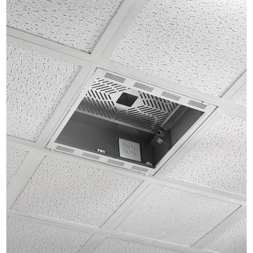 Chief Plenum Rated Ceiling Enclosure Storage Box (White, 2x2')
