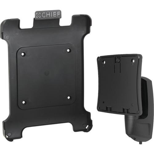 Chief FSBI2B Portable iPad Interface with K0W100B Kontour Pitch/Pivot Mount for Compatible iPads