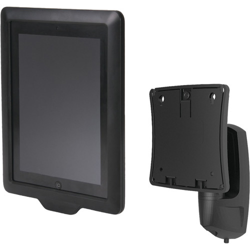 Chief FSBI2TB Secure iPad Interface with K0W100B Kontour Pitch/Pivot Mount for Compatible iPads