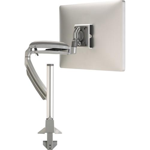 Chief Kontour K1C Dynamic Height-Adjustable Column Single Monitor Mount (Silver)