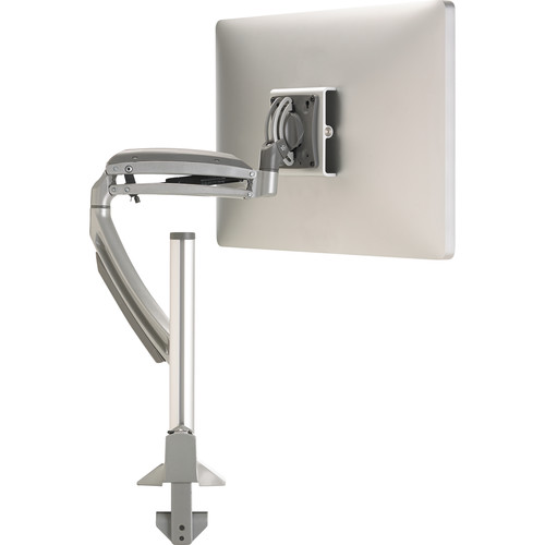 Chief Kontour K1C Dynamic Height-Adjustable Column Single Monitor Mount (Silver)