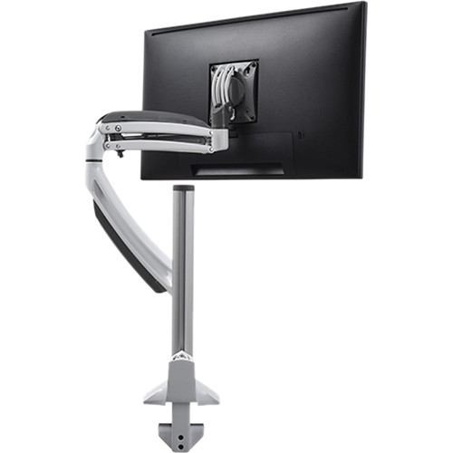 Chief Kontour K1C Dynamic Height-Adjustable Single Monitor Column Mount (White)
