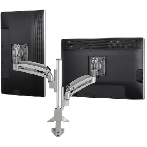Chief Kontour K1C Dynamic Column Mount for 2 Monitors (Black)