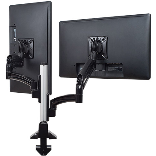 Chief Kontour K1C Dual Monitor Dynamic Column Mount, Reduced Height (Black)