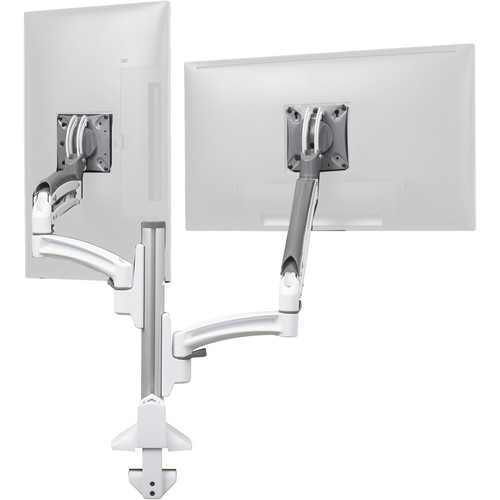 Chief Kontour K1C Dual Monitor Dynamic Reduced-Height Column Mount (White)