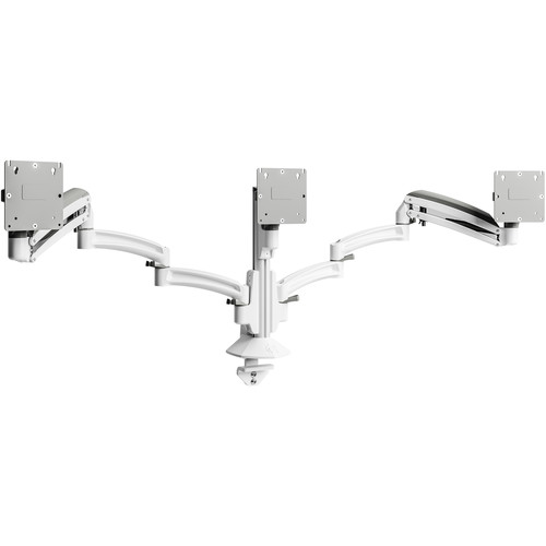 Chief Kontour K1C Triple 3x1 Monitor Dynamic Column Mount (White)