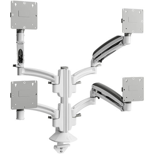 Chief Kontour K1C Quad 2x2 Monitor Dynamic Column Mount (White)