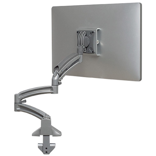 Chief Kontour K1D Dynamic Desk Mount with Extended Reach (Silver)