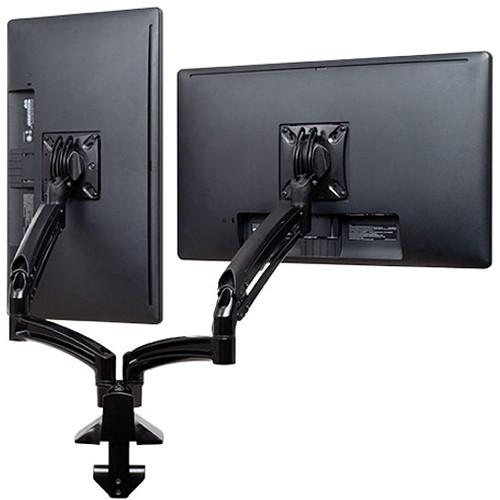 Chief Kontour K1D Dual Monitor Dynamic Desk Mount (Reduced Height, Black)