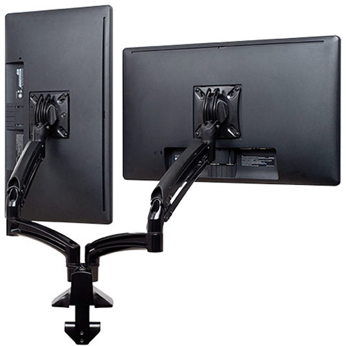 Chief Kontour K1D Dual Monitor Dynamic Desk Mount (Reduced Height, Black)