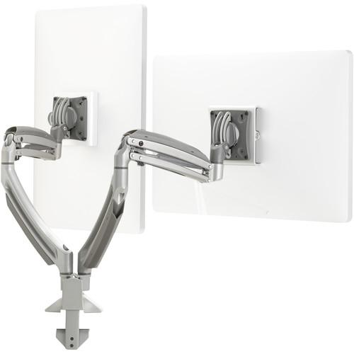 Chief Kontour K1D Dynamic Height-Adjustable Desk Clamp Mount (Silver)