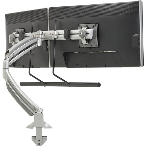 Chief Kontour K1D Dynamic Desk Clamp Mount with Dual Monitor Array (Silver)