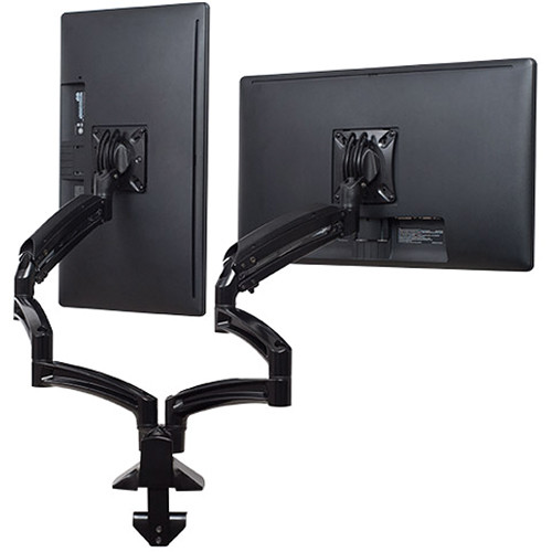 Chief Kontour K1D Dual Monitor Dynamic Desk Mount with Extended Reach (Black)