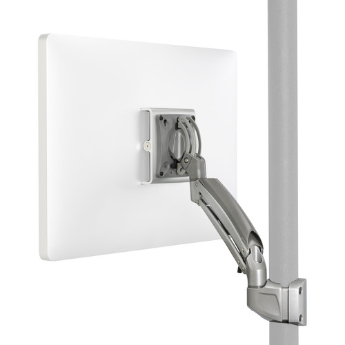 Chief K1P110S Kontour Articulating Single Monitor Pole Mount (Silver)