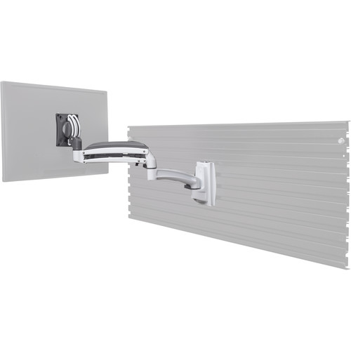 Chief Kontour Dynamic Height-Adjustable Slatwall Mount for Monitor (White)