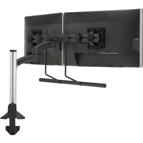 Chief K2C22HB Kontour K2C Articulating Column Mount for Dual Monitor Array (Black)