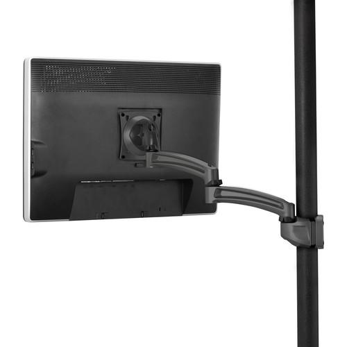 Chief K2P120B Kontour Articulating Pole Mount for Single Monitor (Black)