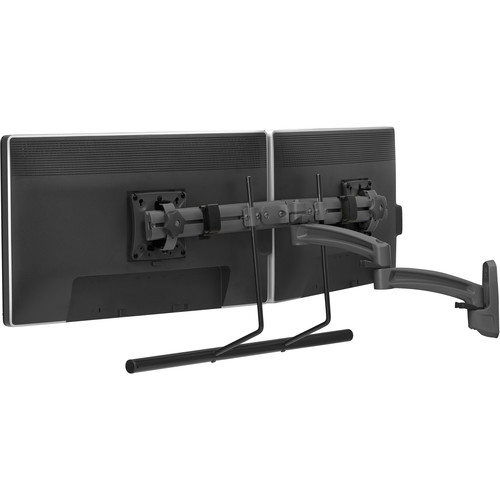 Chief K2W22HB Kontour K2W Dual Monitor Wall Mount Swing Arm (Black)