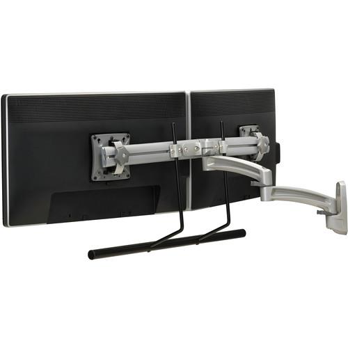 Chief K2W22HS Kontour K2W Dual Monitor Wall Mount Swing Arm (Silver)