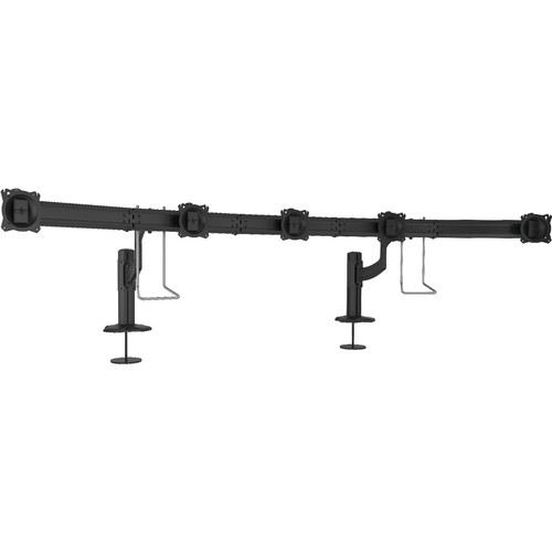 Chief Kontour K4 5x1 Horizontal Grommet-Mounted Array (Black)