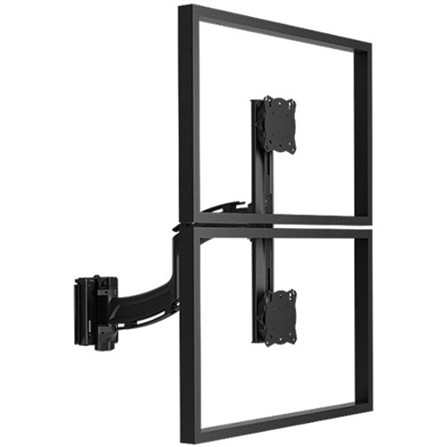 Chief Kontour K4 1x2 Vertical Focal Depth Adjustable Array Slatwall Mount