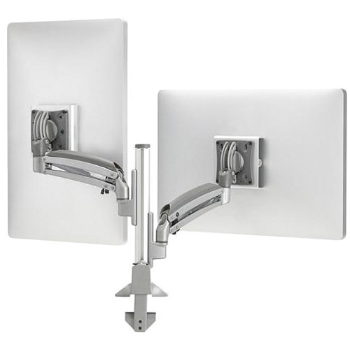 Chief Kontour K1C210SXF1 Dynamic Height-Adjustable Column Mount with Steelcase FrameOne Interface (Silver)