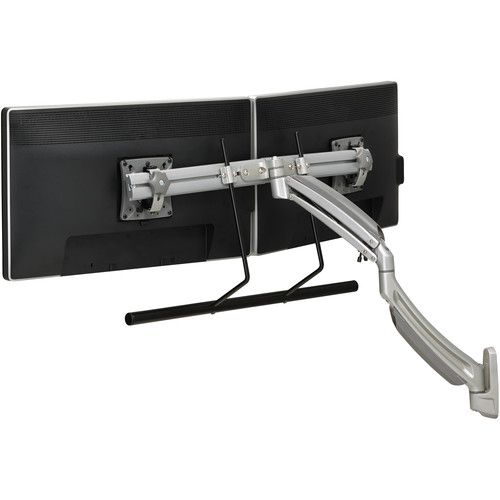 Chief Kontour K1W22HS Dynamic Height Adjustable Wall Mount for Dual Monitors (Silver)