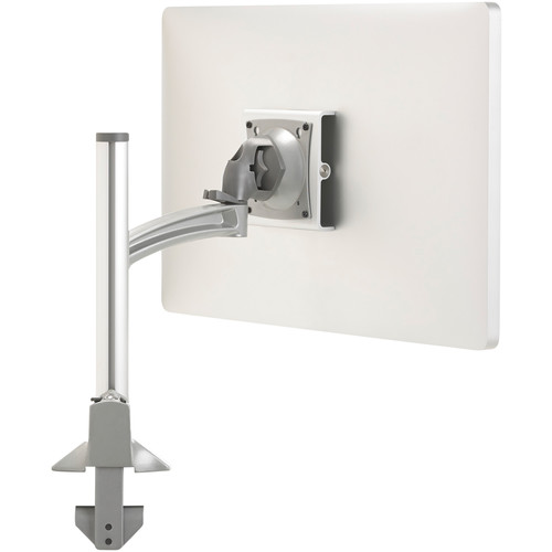 Chief Kontour K2C110S Articulating Column Single-Monitor Desk Mount (Silver with Gray Accents)