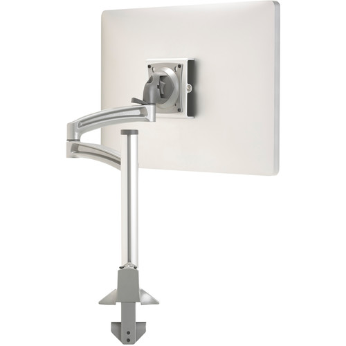 Chief Kontour K2C120S Articulating Column Single-Monitor Desk Mount (Silver with Gray Accents)