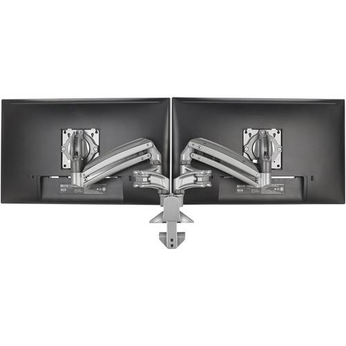 Chief KX Desk Mount Dual 2L Arms (Black)