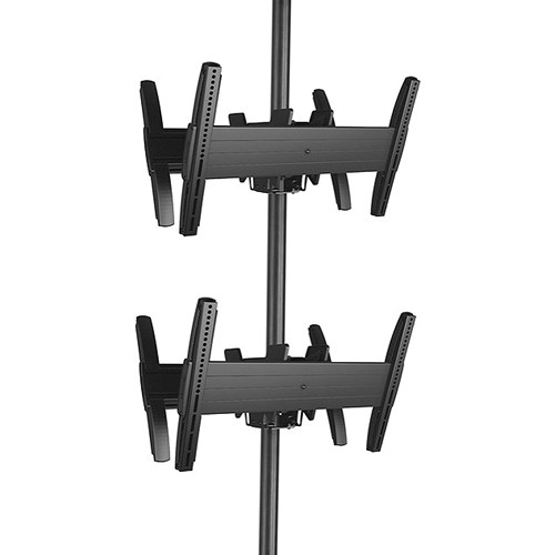 Chief MCB1X2U Fusion Large Back-to-Back Stacked Ceiling Mount