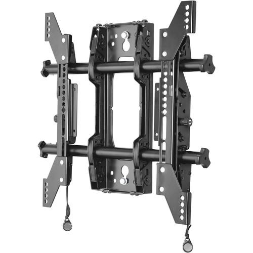 Chief Medium Fusion Micro-Adjustable Tilt Wall Mount (Single Stud, Black)