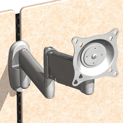 Chief Office Furniture Bracket for Mounting Kontour/K-Series Monitor Arm on Ergotron Wall Track System
