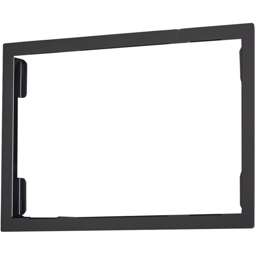 Chief Flange Kit for the PAC525 In-Wall Box (Black)