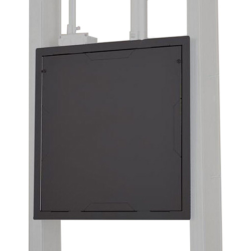 Chief PAC526FC Large In-Wall Storage Box with Flange and Cover (Black)