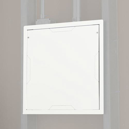 Chief PAC526FCW Large In-Wall Storage Box with Flange and Cover (White)