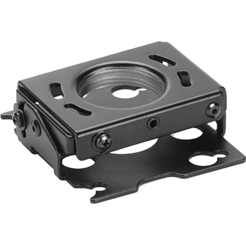 Chief Mini RPA Ceiling Projector Mount with SSB349 Interface Bracket (Black)