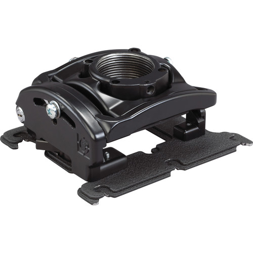 Chief RPA Elite Projector Mount with SLM351 Bracket (Locking Option A, Black)