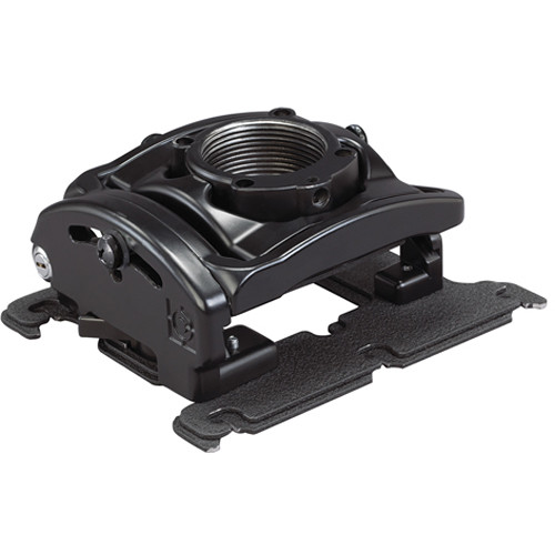 Chief RPA Elite Custom Projector Mount with Keyed Locking and SLB/SLM332 Bracket (Type C, Black)