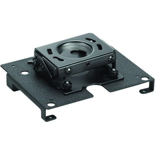 Chief Mini RPA Ceiling Projector Mount with SSB354 Interface Bracket (Black)