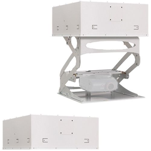 "Chief Smart-Lift Automated Projector Mount with Extended Downward Travel up to 36"" (230V, White)"