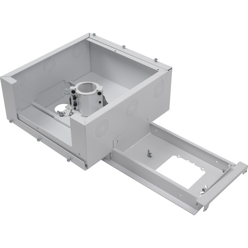 Chief Suspended Ceiling Projector System with Storage Box (White)