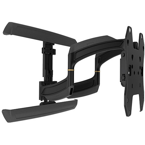 "Chief Medium THINSTALL Dual Swing Arm Wall Mount - 18"" Extension (Black)"