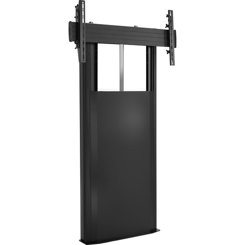Chief X-Large Fusion Manual Height-Adjustable Floor to Wall Mount