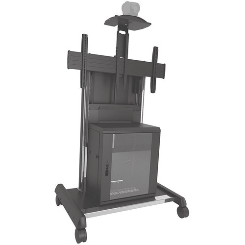 Chief X-large FUSION Video Conferencing Cart (Black)